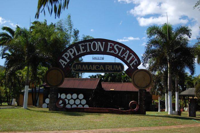 Appleton Estate Rum Complex op Jamaica