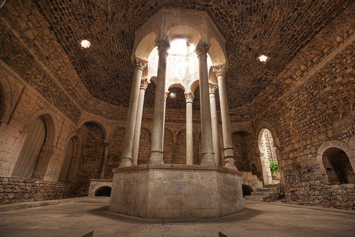 Arab Baths - Romaanse baden in Girona