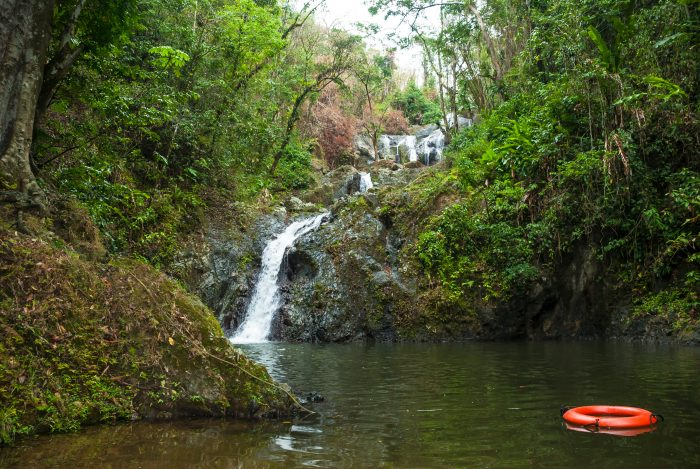 Argyle waterval in Tobago