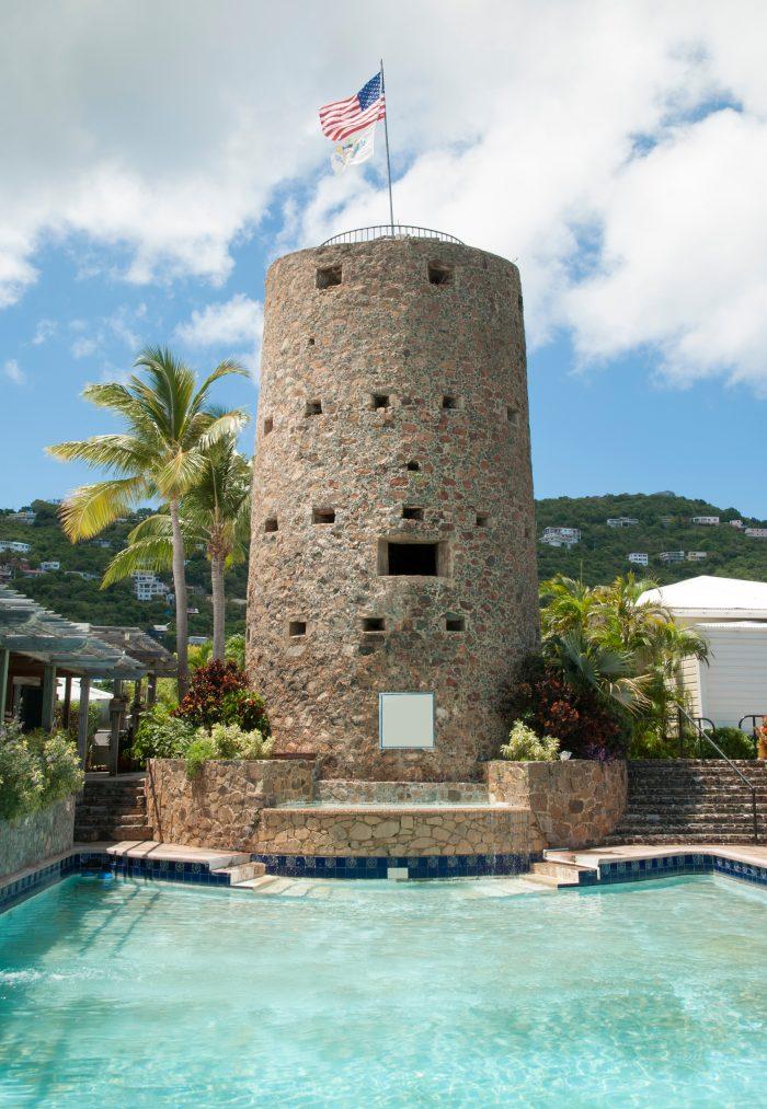 Blackbeard's Castle op de Amerikaanse Maagdeneilanden