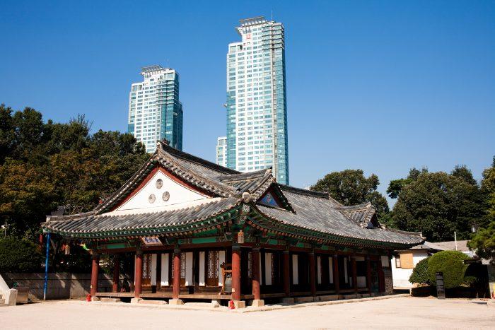 Bongeunsatempel in Seoul
