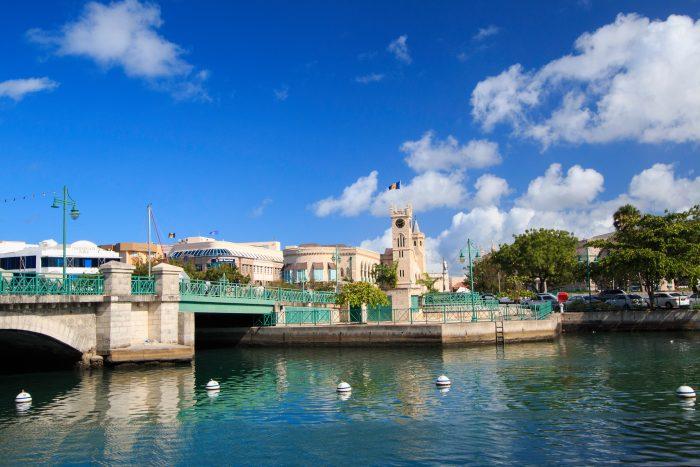 Bridgetown op Barbados
