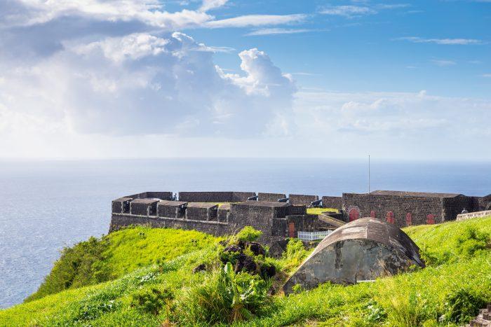 Brimstone Hill Fort op Saint Kitts