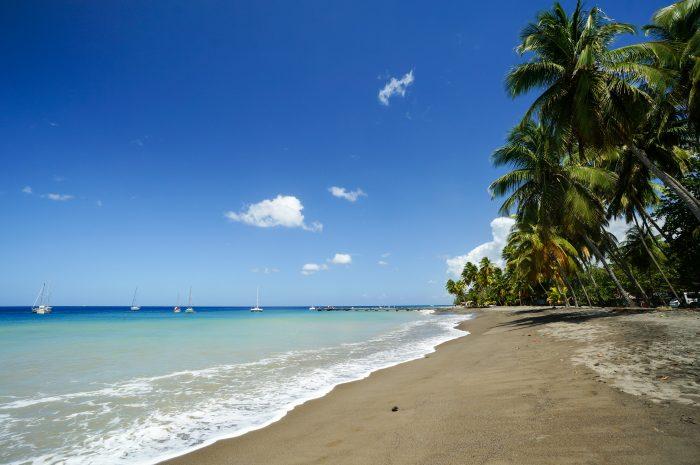 Carbet Beach op Martinique