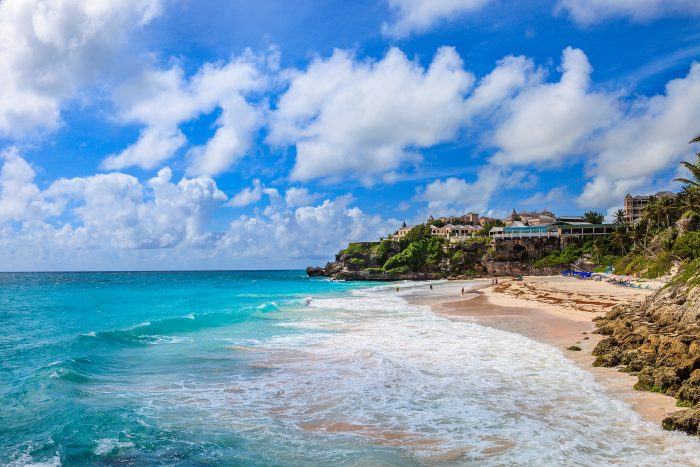 Crane Beach op Barbados