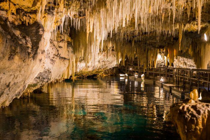 Crystal Cave op Bermuda