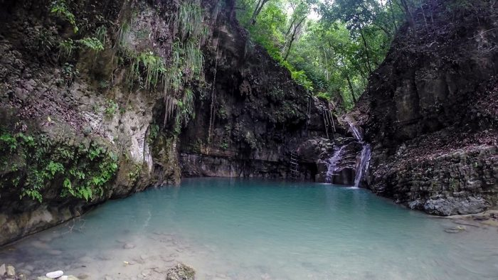 Damajaqua Watervallen