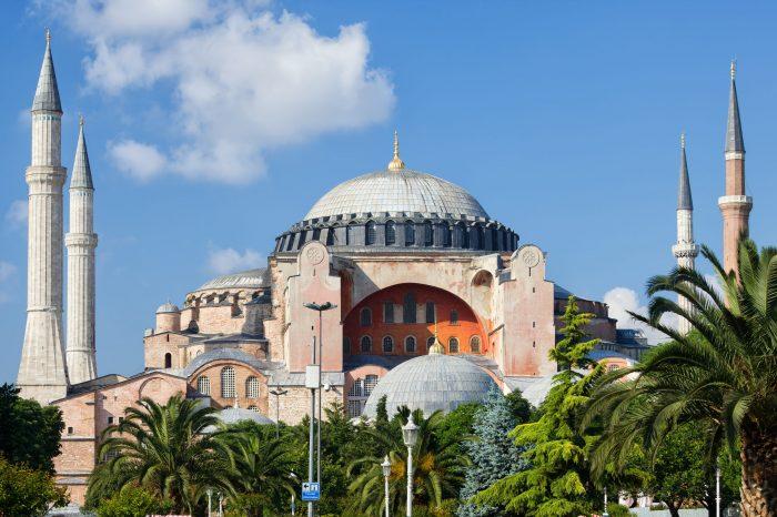 De Hagia (Aya) Sofya in Istanbul