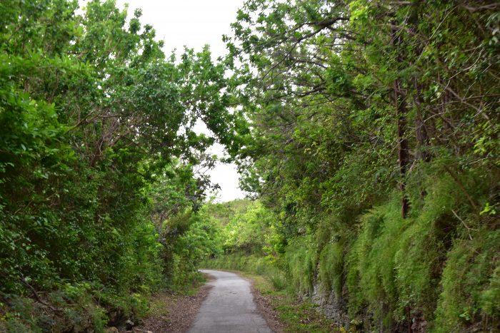 De Railway Trail op Bermuda