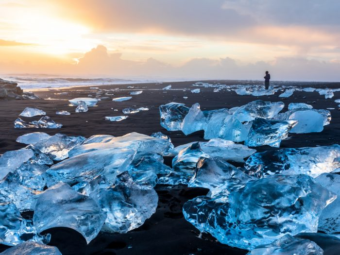 Diamond Beach Bezoeken op Zuidkust IJsland