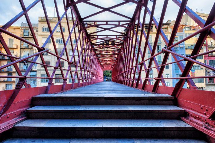 Eiffelbrug - Pont de les Peixateries Velles