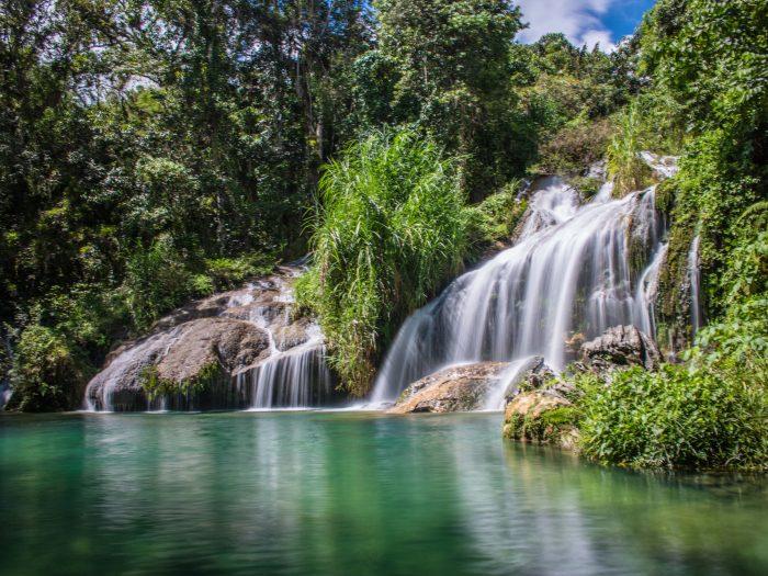El Nicho waterval in Cienfuegos