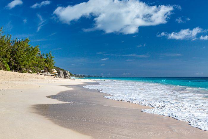 Elbow Beach, een prachtig strand op Bermuda
