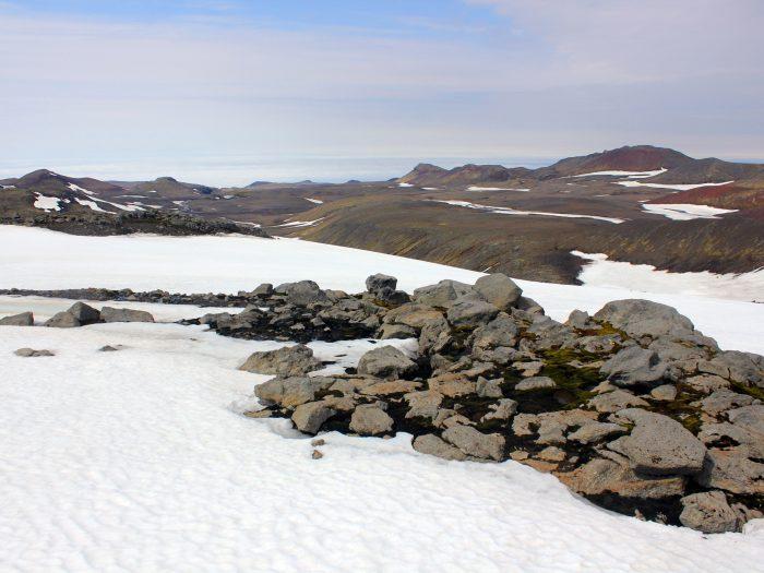 Eyjafjallajökull IJskap IJsland