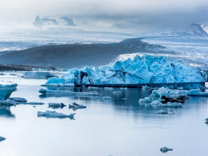 Fjallsárlón Gletsjer Lagune