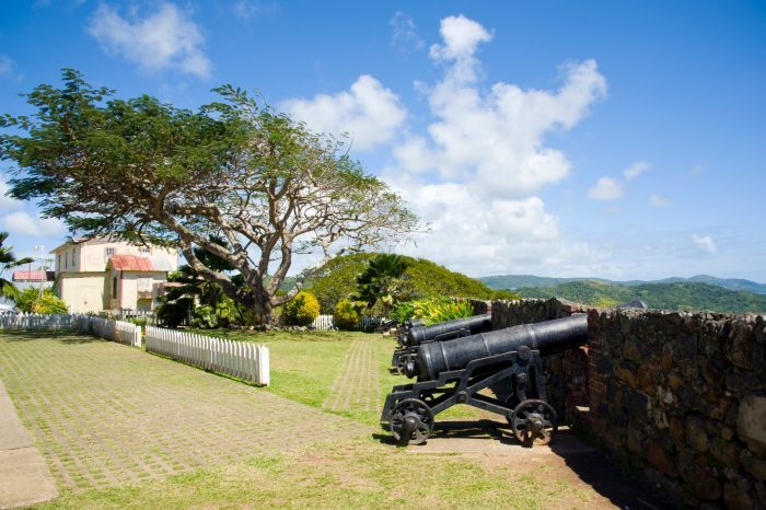 Fort King George op Tobago