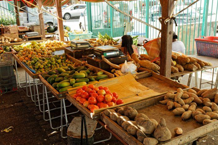 Fort-de-France markt