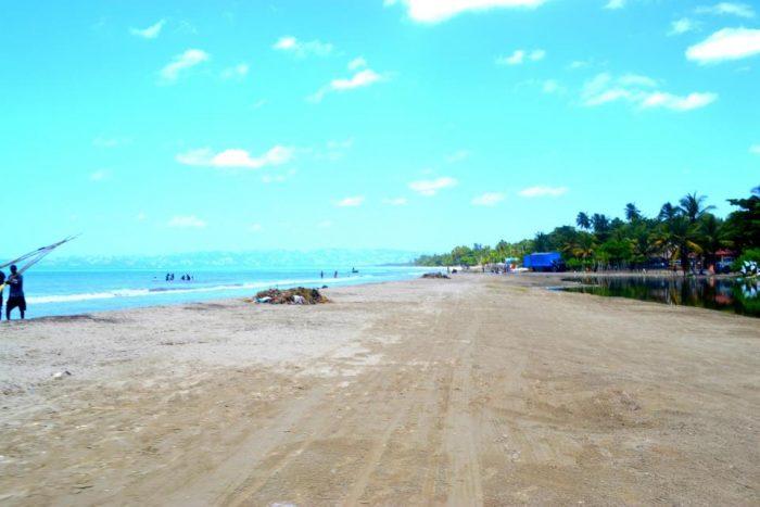 Gelee Beach op Haïti