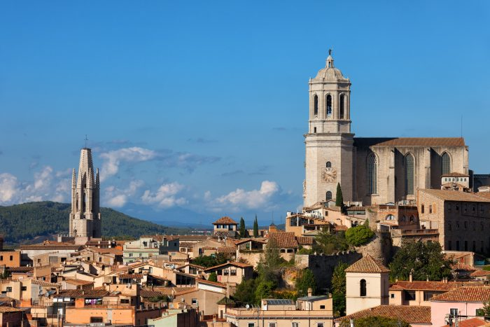 Girona Skyline