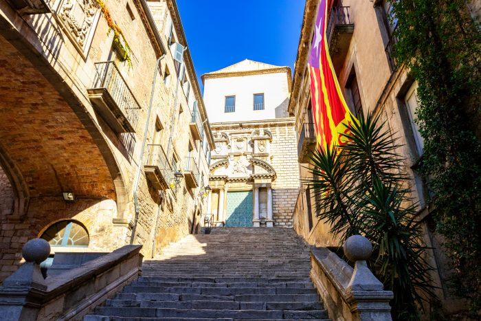 Girona - Trap waar Arya struikelt in Game of Thrones