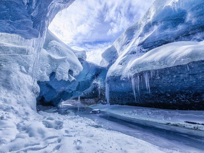 Gletsjer Grot IJsland