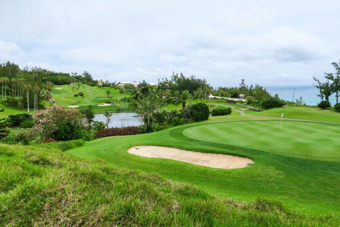 Golfbaan op Bermuda
