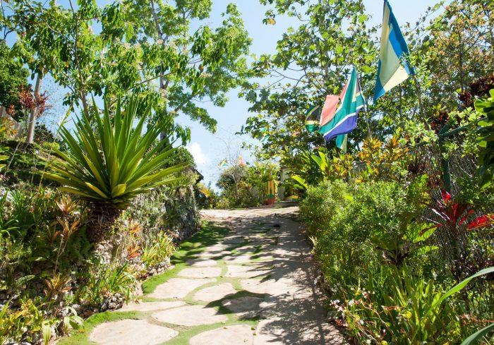 Het Nine Mile dorpje in Jamaica