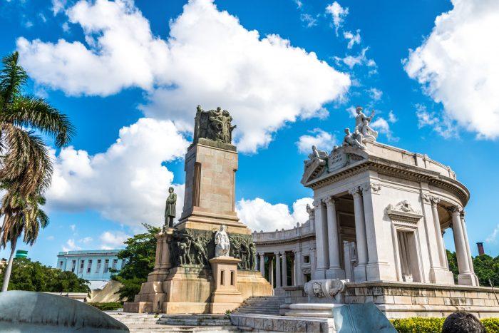 Historisch gebouw in Havana op Cuba