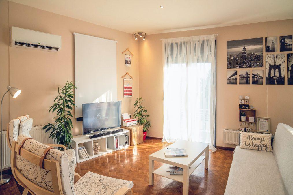 Interieur van een Airbnb huis