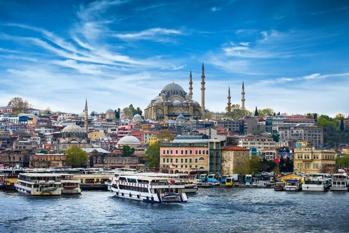 Istanbul de hoofdstad van Turkije