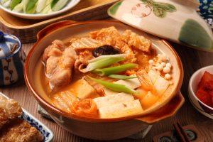 Kimchi stoofpot