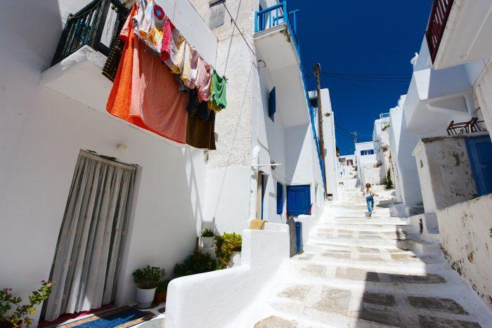 Matogianni Street Mykonos