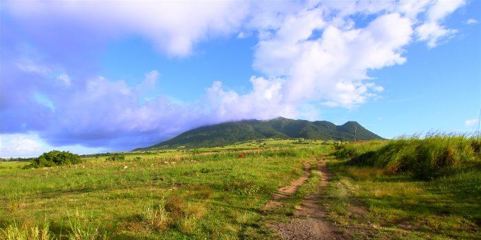 Mount Liamuiga op Saint Kitts Island