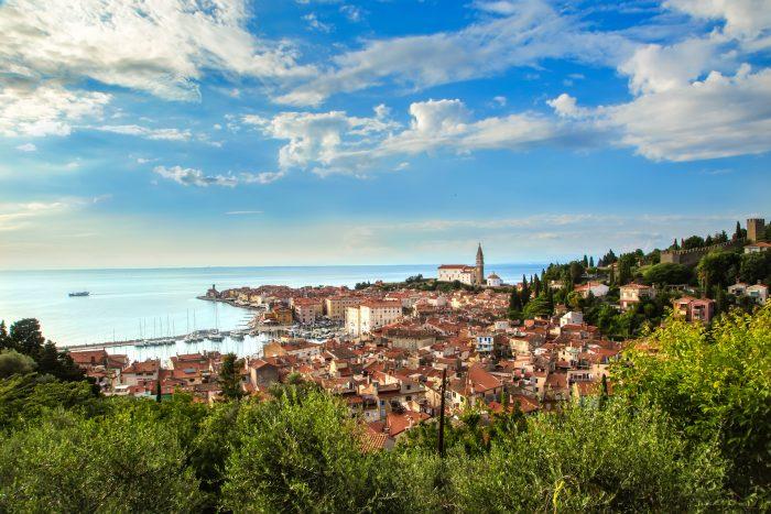 Piran in Slovenië