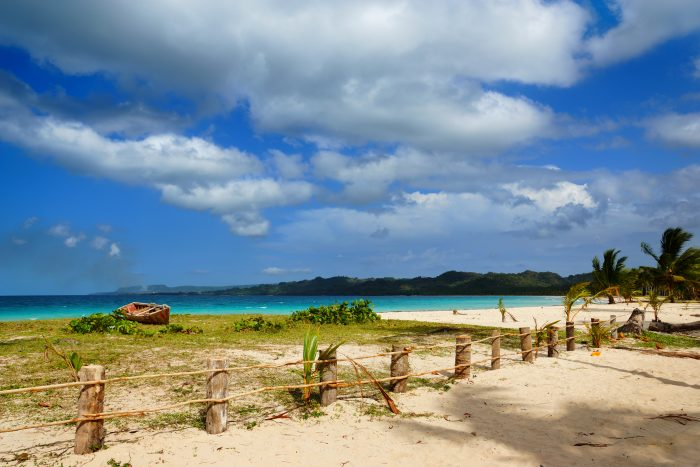 Playa Rincon strand op de Dominicaanse Republiek