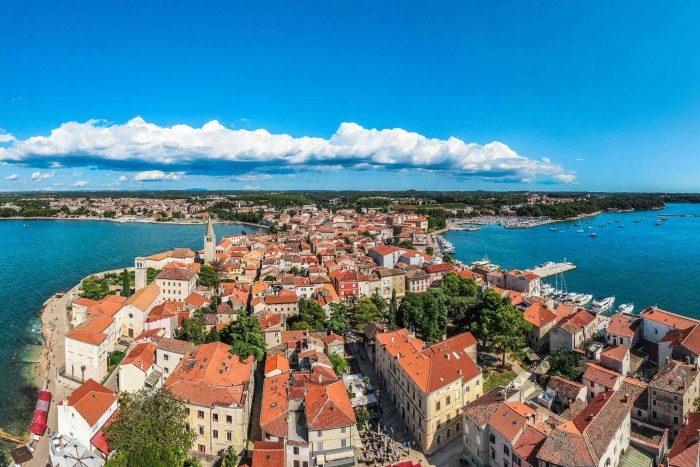 Poreč in Istrië, Kroatië