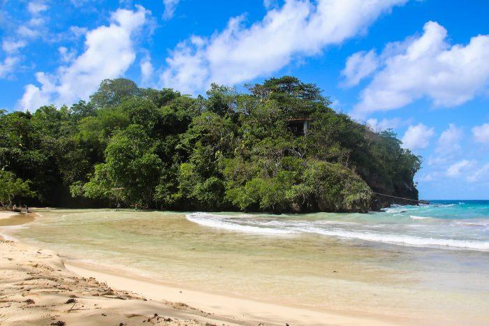 Raggae Beach op Jamaica