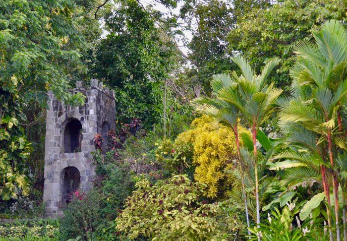 Romney Manor tuin op Saint Kitts