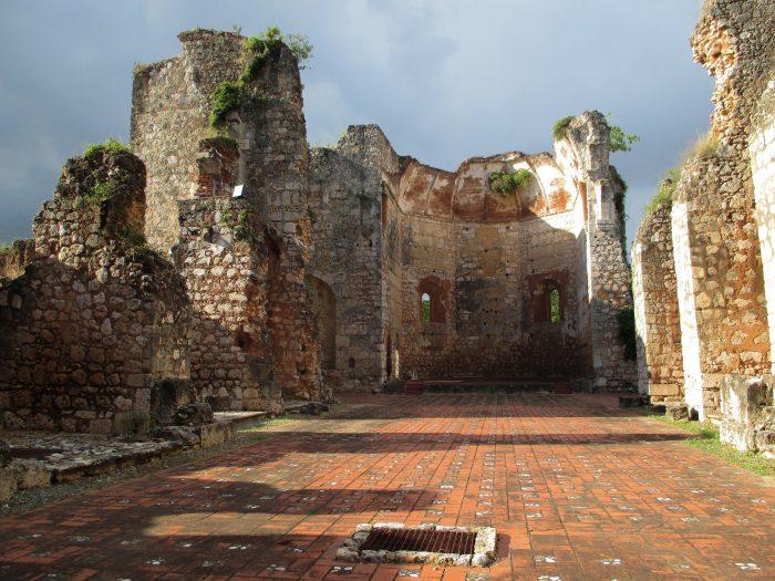 Ruines bij Santo Domingo