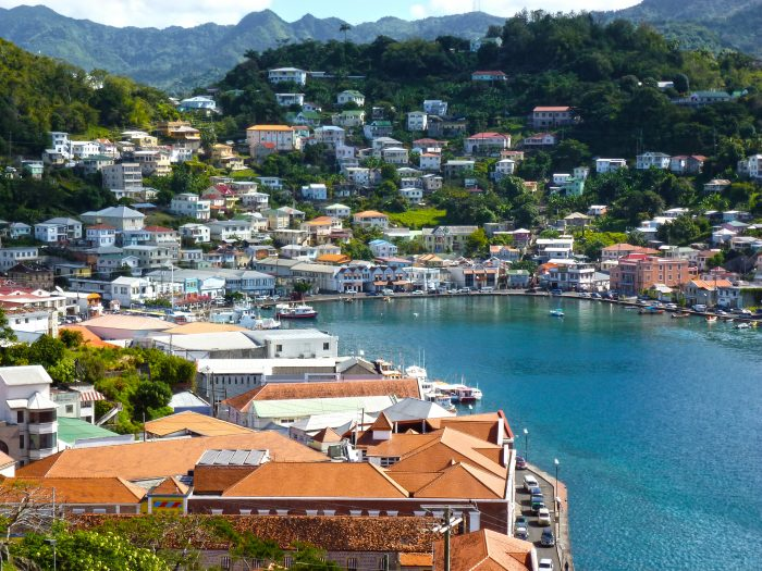 Saint George op Grenada