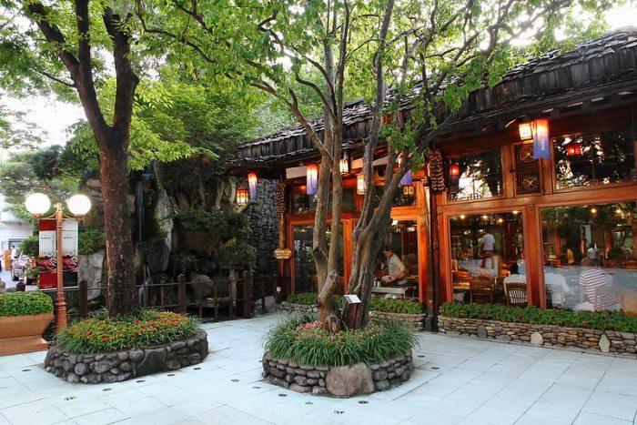 Samwon Garden in Seoul