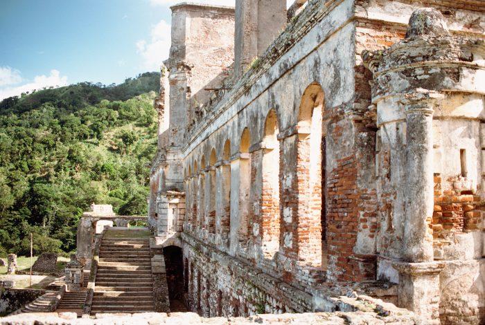 Sans-Souci paleis op Haïti