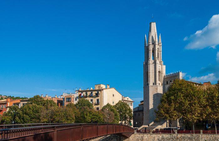 Sant Feliu kathedraal in Girona