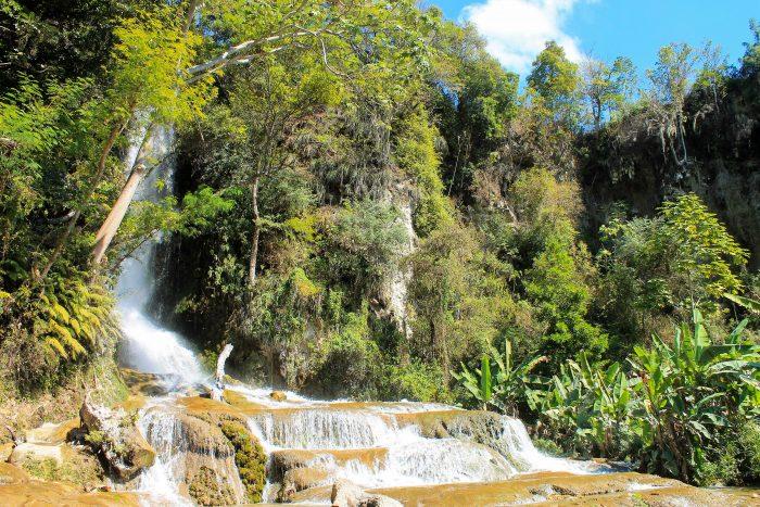 Saut-d'Eau Watervallen