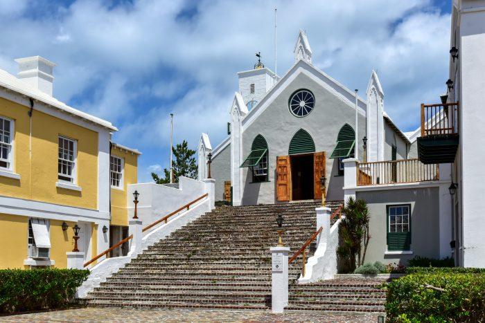 Sint-Pieterskerk in Saint George's