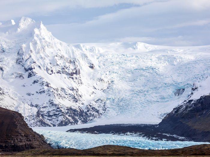 Skaftafell Gletsjer