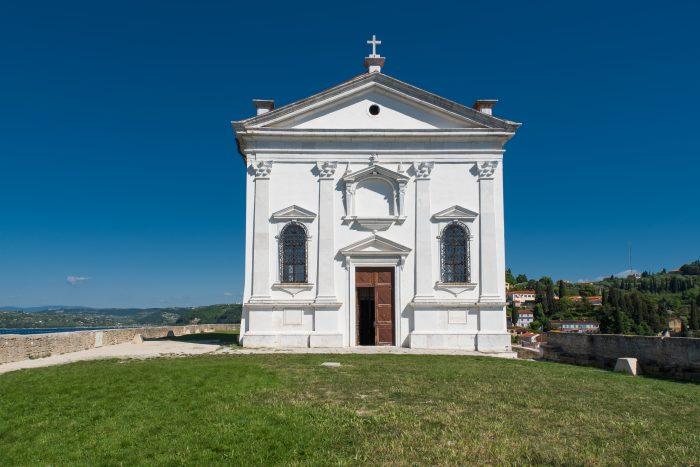St. George kerk in Piran, Slovenië