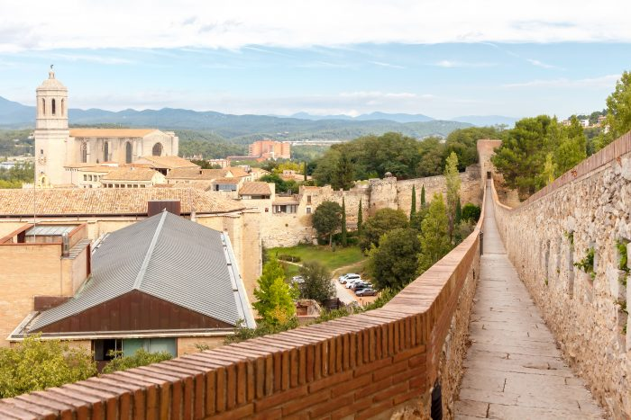 Stadsmuren Girona