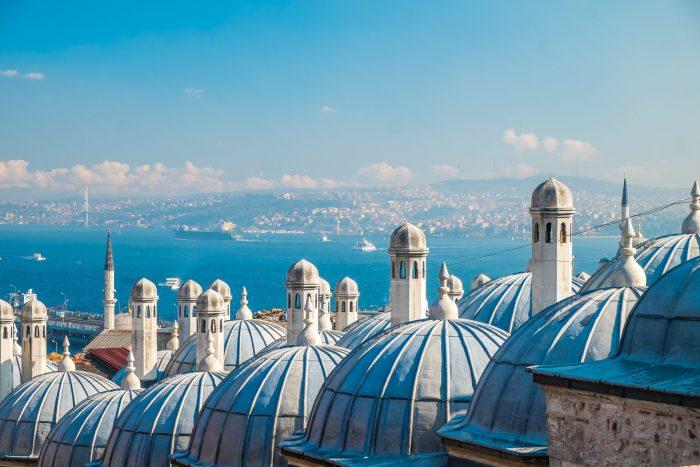 Suleymaniye moskee daken