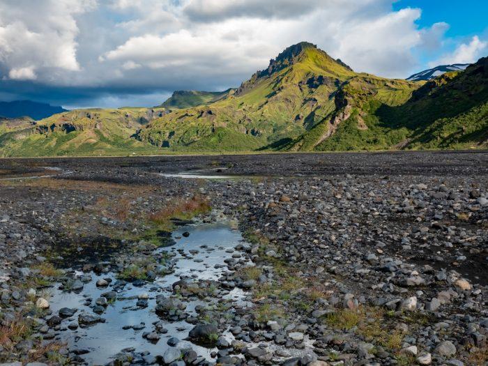 Thorsmork Landschap Zuidkust IJsland